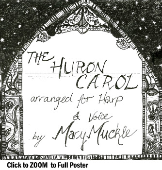 The Human Carol, arranged for Harp & Voice, by Mary Muckle
